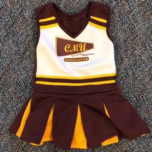 Other - CMU cheerleader outfit 18 months